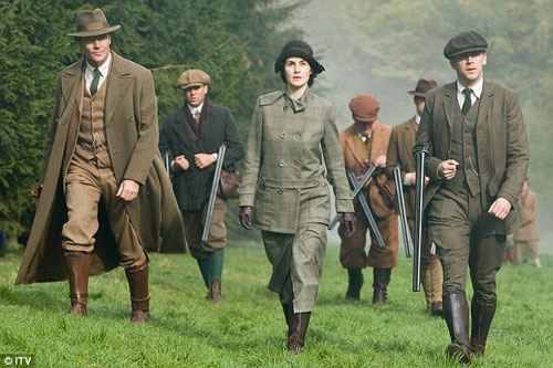 Downton Abbey Hunting Party