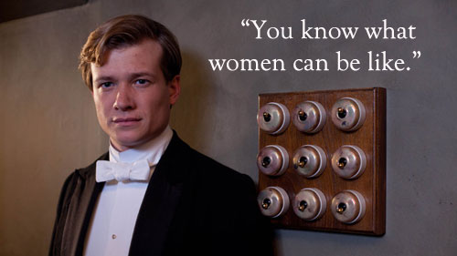 Jimmy quote Downton Abbey