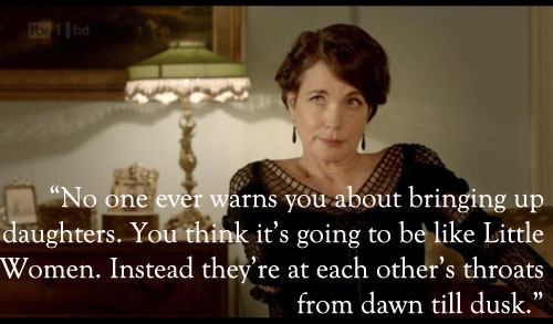 Lady Cora quote Downton Abbey