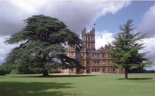 Downton Abbey Location