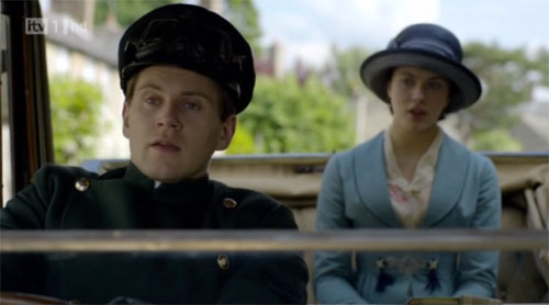 Tom Branson and Lady Sybil