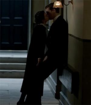 Martha's maid kisses Alfred