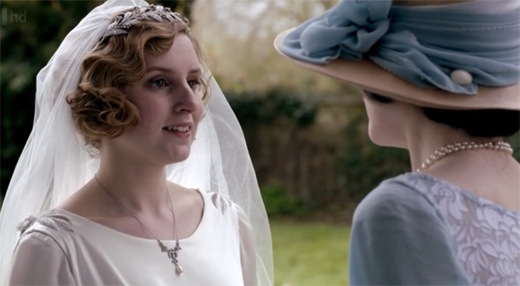 Lady Edith and Lady Mary