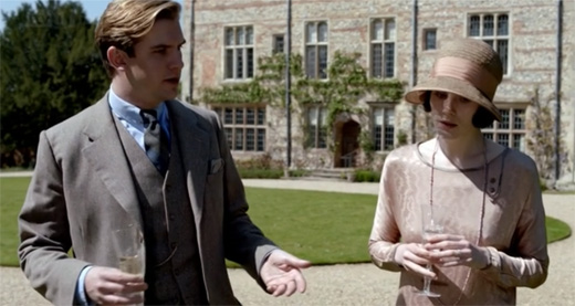 Matthew Crawley and Lady Mary