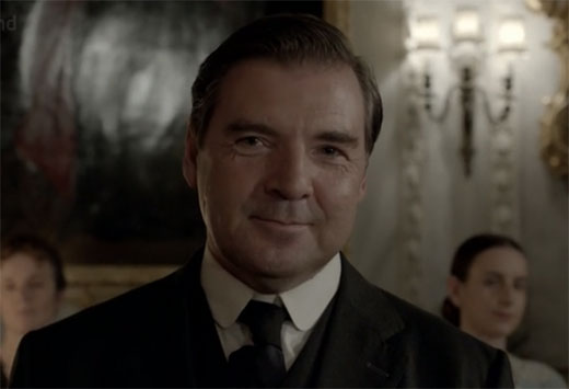 Mr Bates watches Anna dance