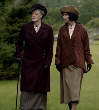 Countess Violet and Susan Fletcher