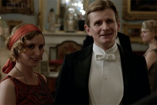 Lady Edith and Micheal Gregson