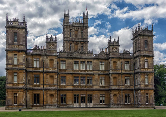 The best of downton abbey season three - Downton abbey chateau ...