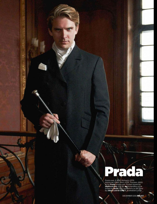 Dan Stevens plays Matthew Crawley on Downton Abbey