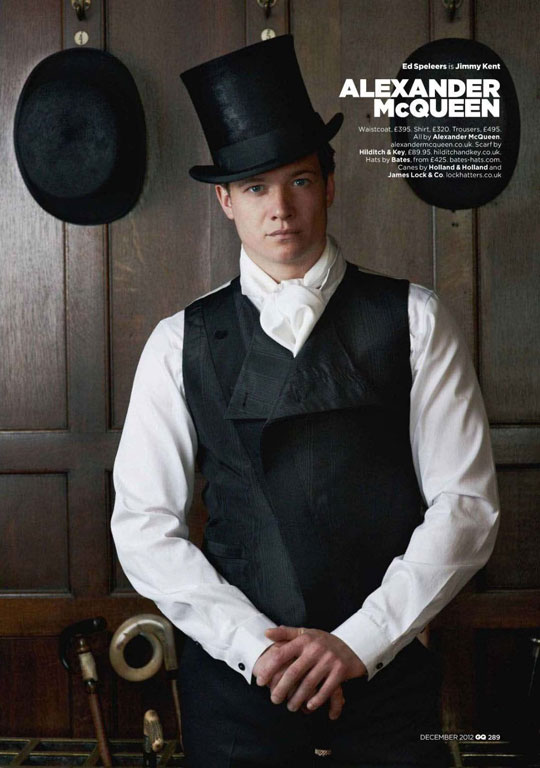 Ed Speeler plays Jimmy on Downton Abbey