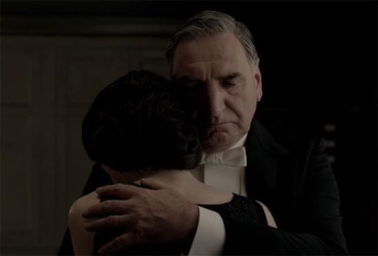Carson comforts Mary
