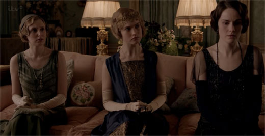 Lady Rose, Lady Mary, Lady Edith