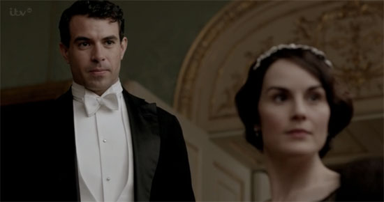 Lady Mary and Lord Gillingham