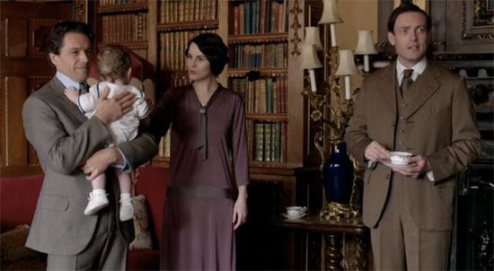 Mr Blake and Lady mary