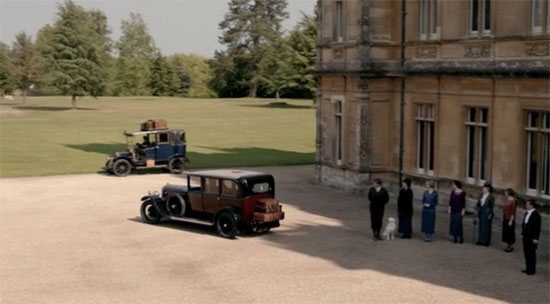 Lord Grantham visits America